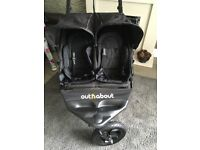 Out 'n' About Double Buggy £220 ono