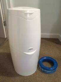 Angelcare nappy disposal unit and one cartridge
