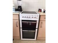 Freestanding Flavel Milano E50 cooker in immaculate condition from a smoke and pet free home.