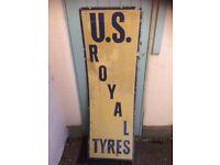 Enamelled American Garage Sign
