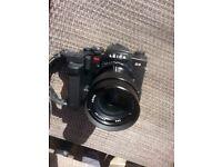 Leica r4 camera an lens .drive