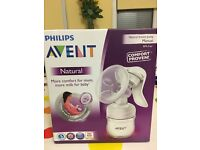 Avent manual breast pump for sale