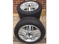 Ford Focus alloy wheels +tyres