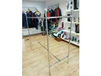 Clothing rail - chrome Morplan