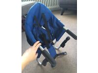 iSafe table clamp high chair / booster seat