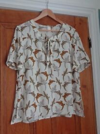 H and M crocodile pattern top.