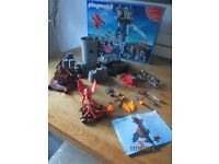 Playmobil Knights and Dragons Castle set 5089 100% complete with box and instructions