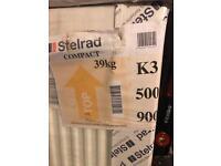 Stelrad radiators - new x 3 various sizes