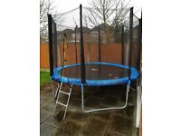 10 ft We R Sports Trampoline with enclosure