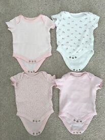 Newborn baby girl clothes, up to 1 month
