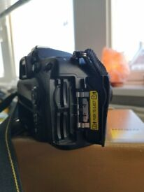 Nikon D7100 with 35mm lens . perfect condition