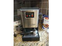 Gaggia Classic Coffee Machine with accessories