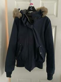 Bench coat size m with hood