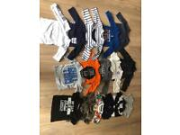 Boys 3-6 months long and short sleeved t shirts