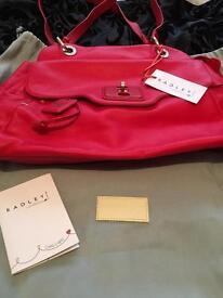 Radley red bag new £75