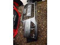 2015 Audi A3 Bumper + grill