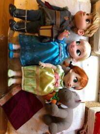 Disney's Elsa, Anna and Kristoff set