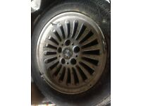 BMW 523 alloys and tyres