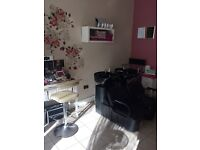 Space to rent for a hairdresser, nail technician or makeup artist