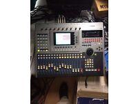 Yamaha Recorder AW4416 not akai roland emu neve ssl