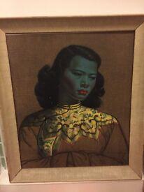 Tretchikoff Chinese Girl print 1950s