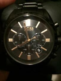 Hugo boss men's drivers chronograph watch