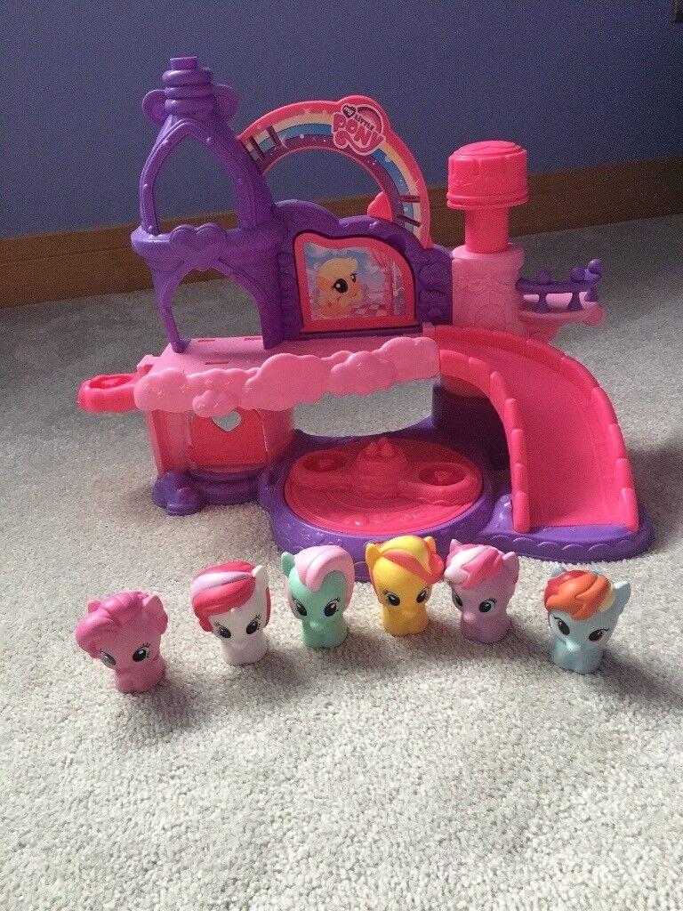 My little pony playskool castle