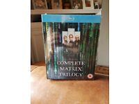 The complete matrix trilogy on blu ray