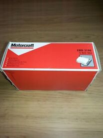 Authentic front Ford Motorcraft Brake Pads set for Ford Escort/Orion MK4 01/86-08/90