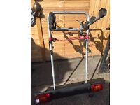 halfords exodus bike rack for 2003 galaxy/sharan/alahmbra c/w lightboard