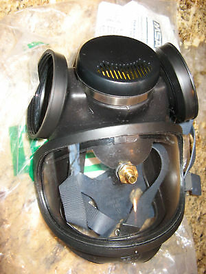 Msa Respirator Full Face Probed Ultra Twin - Small