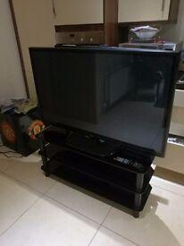 "LG 50PH660V Plasma Full HD 1080p 3D Smart TV, 50"" with Freeview HD 3 x HDMI"