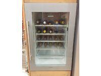 Siemens VinoThek built in wine cooler