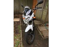 Yamaha YBR 125, low milage, excellent condition