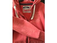 Ladies Superdry Hoodie, Size Medium, Only Worn Once