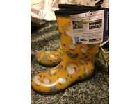 Sloggers Wellington boots brand new size 5