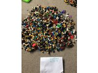 LEGO MINIFIGURES HUNDREDS HUGE BUNDLE