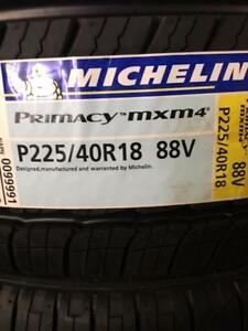 4 Brand New Michelin Primacy MXM4 225/40R18 *** WallToWallTires.com ***