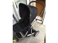 mamas& papas pram stroller carrycot 2 in 1.good used codition