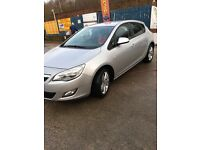 Vauxhall Astra exclusive automatic