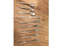 Cutlery set/ tea spoons/ fork/ knife