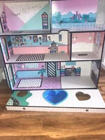 Lol doll house girls toys