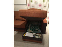Sofabed in excellent condition, 2 large storages, ideal for small places