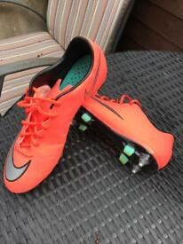 Nike mercurial vapour football boots size 9.5