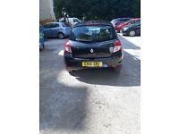 Renault Clio 5 Door Hatchback for private sale. Petrol. Colour Black. 2010. Very good condition.