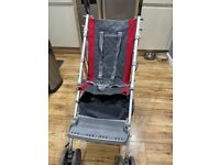 McLaren Major Elite Special Needs Pushchair with raincover and storage basket
