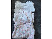 Baby girl mix sleepsuits