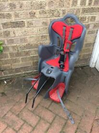Children's rear cycle seat