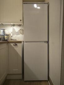 Zanussi ZEBB28440 white 54cm wide Fridge Freezer, fully working