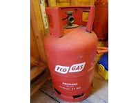 11kg Propane Gas about half full